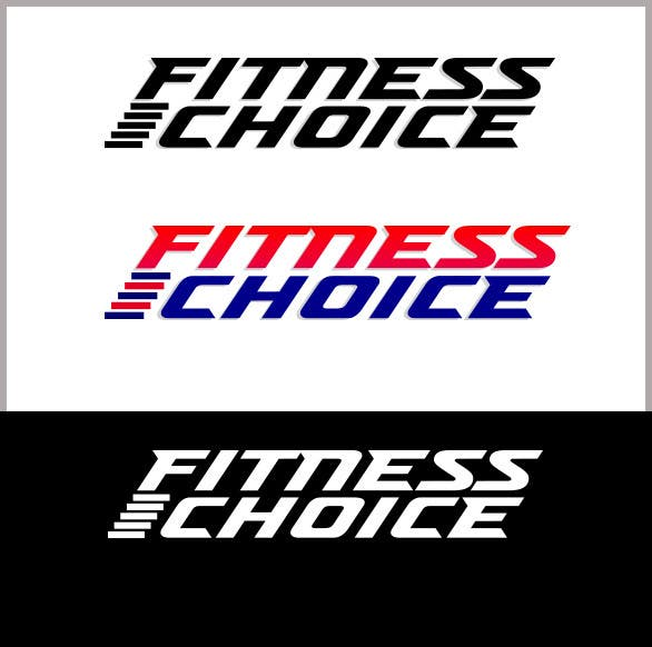 Proposition n°                                        12                                      du concours                                         Logo Design for Fitness Choice