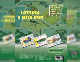 #48 for Design a Flyer - 2018 Loteria 5 Mile Run af colorgraph