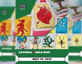 #53 for Design a Flyer - 2018 Loteria 5 Mile Run af AlphaXxX