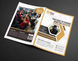 #3 for Design a magazine cover about active learning (VR, AR, gamifcation, etc.) by brahmaputra7