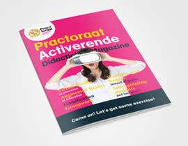 vespertunes tarafından Design a magazine cover about active learning (VR, AR, gamifcation, etc.) için no 14