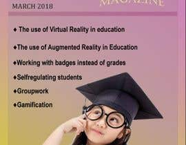 #10 for Design a magazine cover about active learning (VR, AR, gamifcation, etc.) by katrinspasova