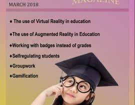 katrinspasova tarafından Design a magazine cover about active learning (VR, AR, gamifcation, etc.) için no 10