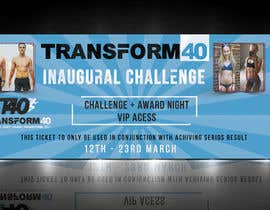 #20 , 40 Day Challenge Ticket Design 来自 Sharifulhoq