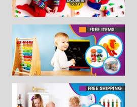 #14 , Create 3 banners for a Children's education toys website 来自 murugeshdecign