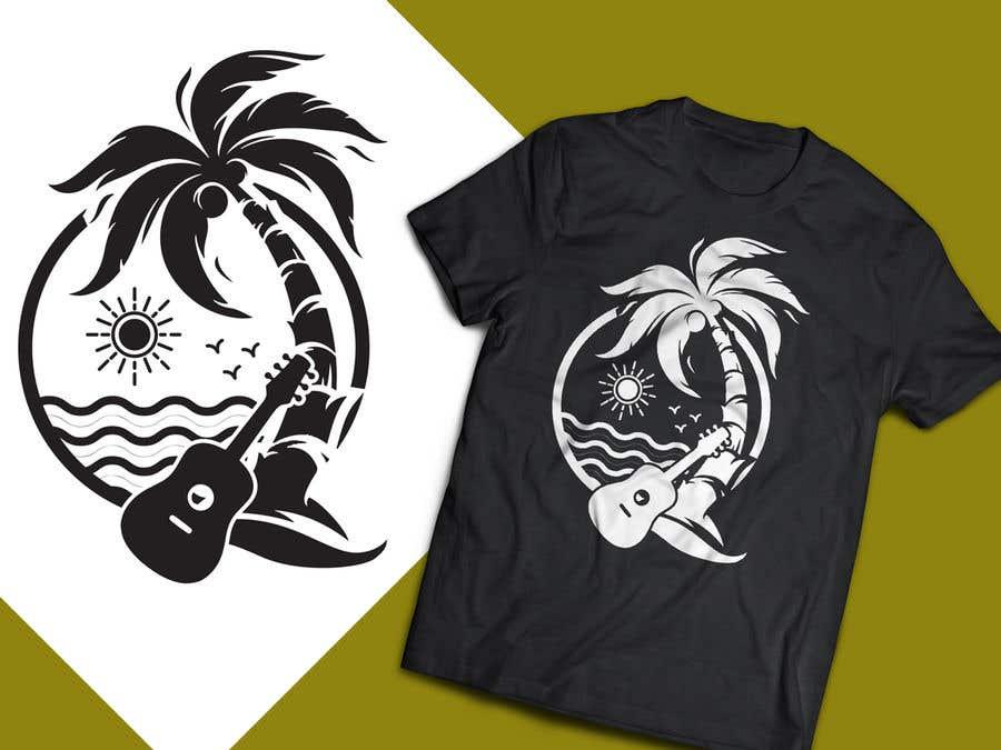 7b2ed1ee Entry #30 by Tonmoydedesigner for Beach T-Shirt Design for Summer ...