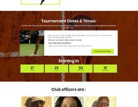 #23 for Create a Wordpress website for my tennis club af chiku789