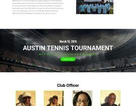 #14 for Create a Wordpress website for my tennis club af andyfazle