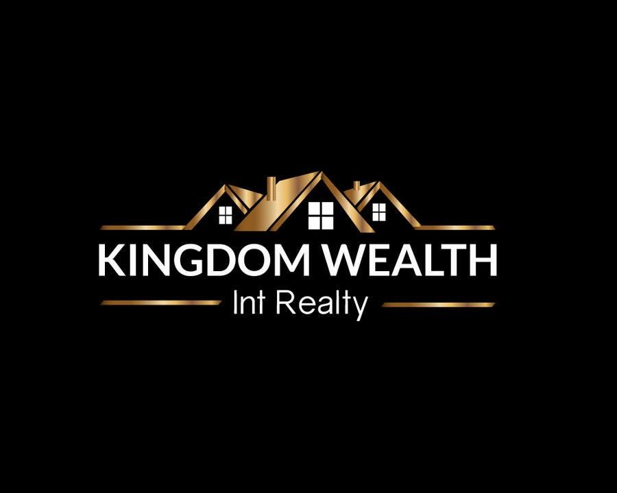 Bài tham dự cuộc thi #                                        10                                      cho                                         Design a Logo exuding KINGDOM WEALTH Int Realty
