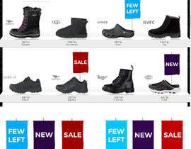 #71 for Design 3 eye-catching signs for eCommerce website by ursdesire