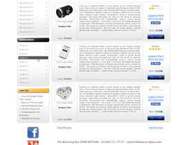 nº 11 pour New Graphic Design for photo equipment web shop  www.thebouncingbox.com par Zveki