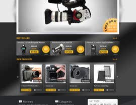 nº 2 pour New Graphic Design for photo equipment web shop  www.thebouncingbox.com par datagrabbers