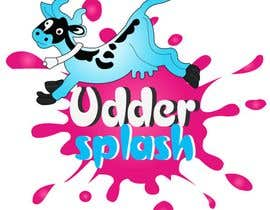 roopaljain님에 의한 Logo Design for Uddersplash을(를) 위한 #69