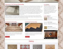 #4 untuk Design a Website Mockup for Tile Removal Company oleh webidea12