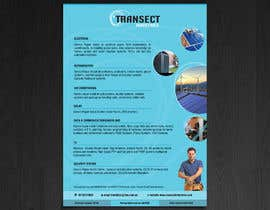 #4 для Flyer Design for Transect Industries от creativeduo