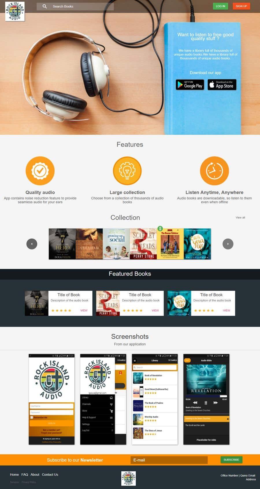 Konkurrenceindlæg #24 for Design a webpage
