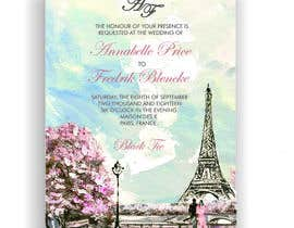 #136 para Design a wedding invitation de Tariq101