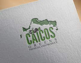 """Nro 7 kilpailuun Logo Design """"Caicos Greens"""" käyttäjältä snooki01"""