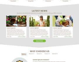 nº 21 pour Design homepage for website garden center par klein885