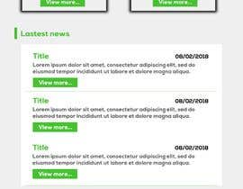 nº 29 pour Design homepage for website garden center par pedrodld