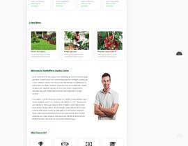 nº 31 pour Design homepage for website garden center par RenjithVR4