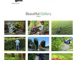 nº 25 pour Design homepage for website garden center par Pandeyhimanshu