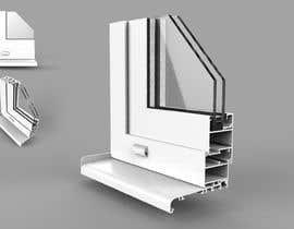 #51 for Rendering of Aluminium Window Corner Section by stevenind