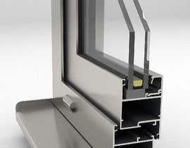 #87 for Rendering of Aluminium Window Corner Section by arqfernandezr
