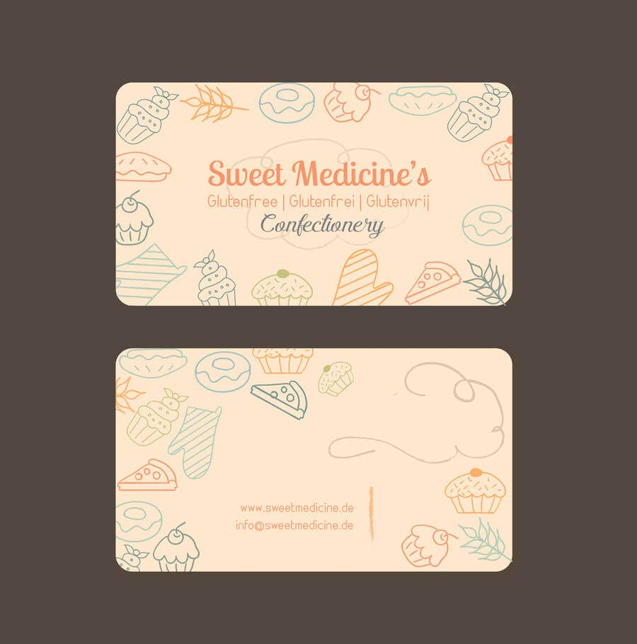 Entry #45 by ghani991 for Design some Business Cards - Bakery ...