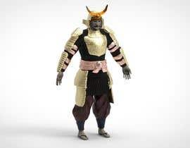 #12 untuk 3D Model - Samurai Character  - 3D Printing oleh sihagarts