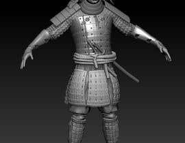 #17 untuk 3D Model - Samurai Character  - 3D Printing oleh NikolaiCG