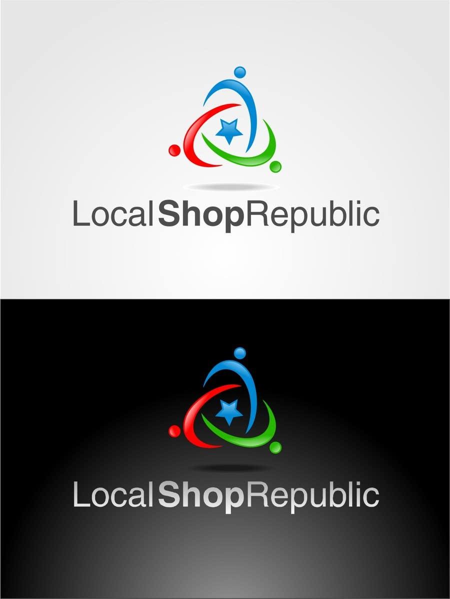 Конкурсная заявка №84 для Logo Design for Local Shop Republic