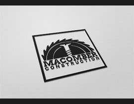#82 untuk Locally Owned Construction Company - Logo with  Saw Blade with Screw in it oleh faresmila