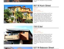 "#9 for Real Estate ""Top 10"" Page design. by blomqvistviggo"