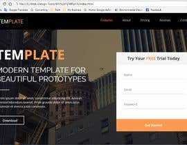 #14 for PSD File to Responsive Rails HTML/CSS by ElzeroO