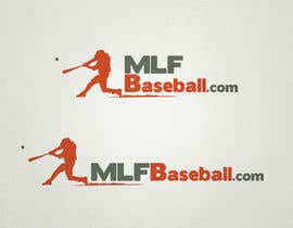 #127 para Logo Design for MLFBaseball.com por bdrahas