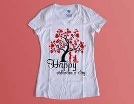 #50 for I need to design a T-Shirt for Valentine's Day af creativeliva