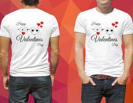 #32 for I need to design a T-Shirt for Valentine's Day af Linkon293701