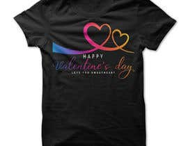 #48 for I need to design a T-Shirt for Valentine's Day af Mostakim1011