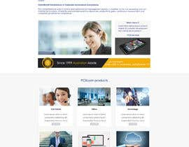 Nro 10 kilpailuun Design a Website Mockup for Software Company käyttäjältä sanduice