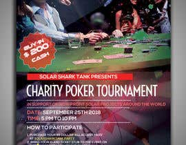 #5 for flyer for charity poker tournament by vaishaknair