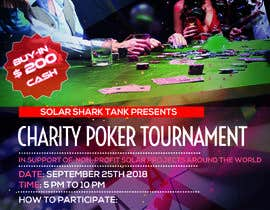 #6 for flyer for charity poker tournament by vaishaknair