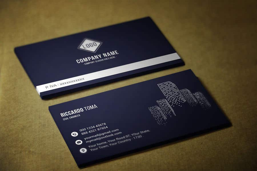 business card - Engineer Business Card