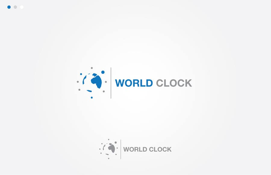 #178 for Logo Design for WorldClock.com by cundurs
