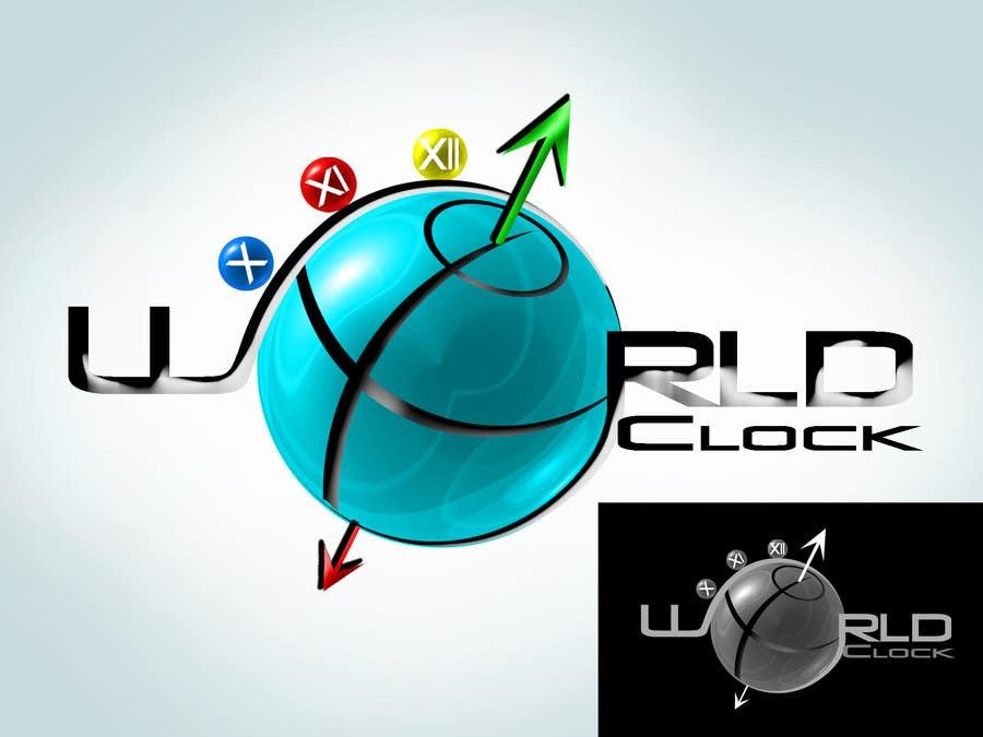 Penyertaan Peraduan #                                        268                                      untuk                                         Logo Design for WorldClock.com