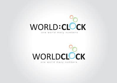 #379 para Logo Design for WorldClock.com por paxslg