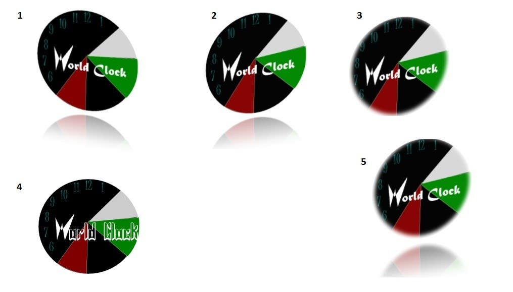 Penyertaan Peraduan #                                        191                                      untuk                                         Logo Design for WorldClock.com