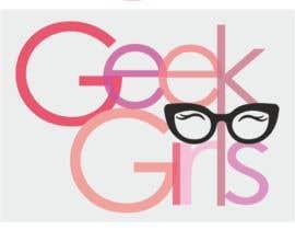 Nro 28 kilpailuun Geek girl logo käyttäjältä Guimarlac