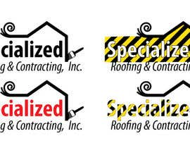 #50 untuk Logo Design for Specialized Roofing & Contracting, Inc. oleh digm