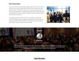 #5 for Design an Event Landing Page by webidea12